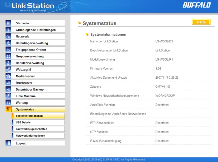 how to find ip address of buffalo linkstation